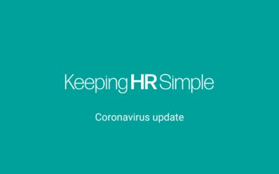 Corona virus updates – self isolation changes.